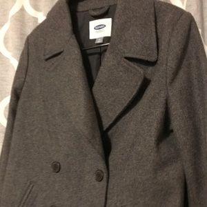 EUC old navy pea coat!!